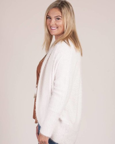 BB Dakota - Sheryl Fuzzy Cocoon Sweater