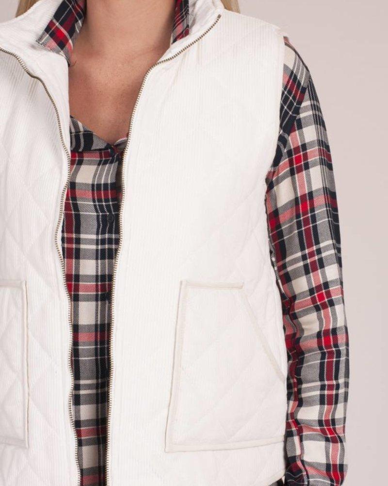 Diego Corduroy Vest