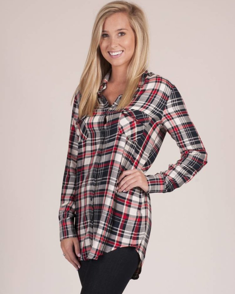 BB Dakota - Sylvia Plaid Shirt