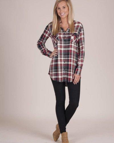 BB Dakota - Sylvia Plaid Shirt