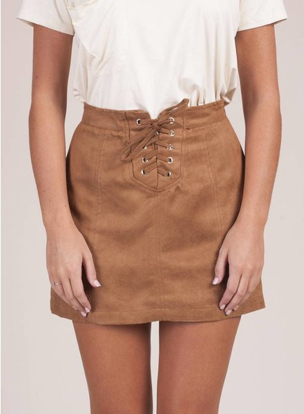 Jack by BB Dakota - Darling Lace-Up Skirt