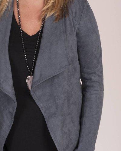 BB Dakota - Wade Faux Suede Jacket