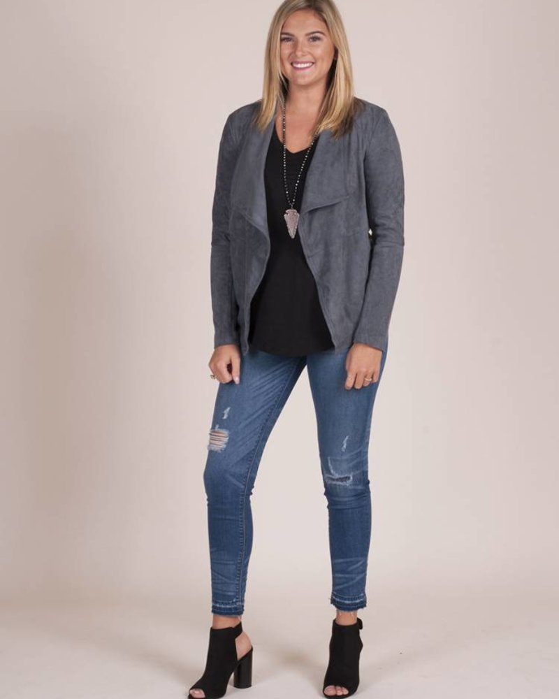 BB Dakota - Wade Faux Suede Jacket