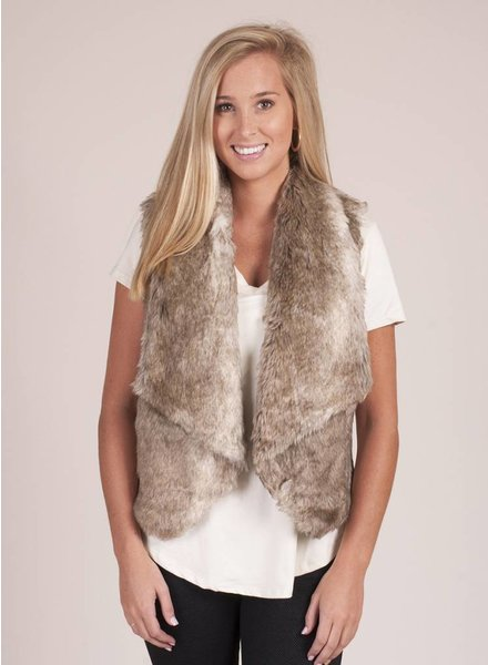 Jack by BB Dakota - Dwight Faux Fur Vest