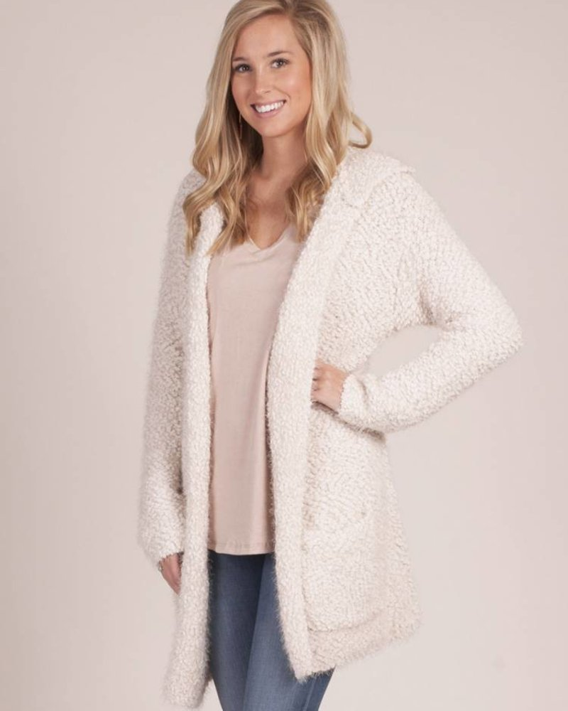 Coco Long Slub Cardigan