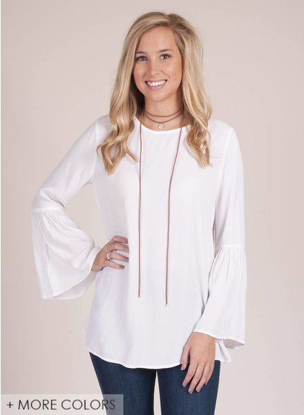 Marney Bell Sleeve Top