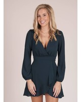 Lawson VNeck Wrap Dress