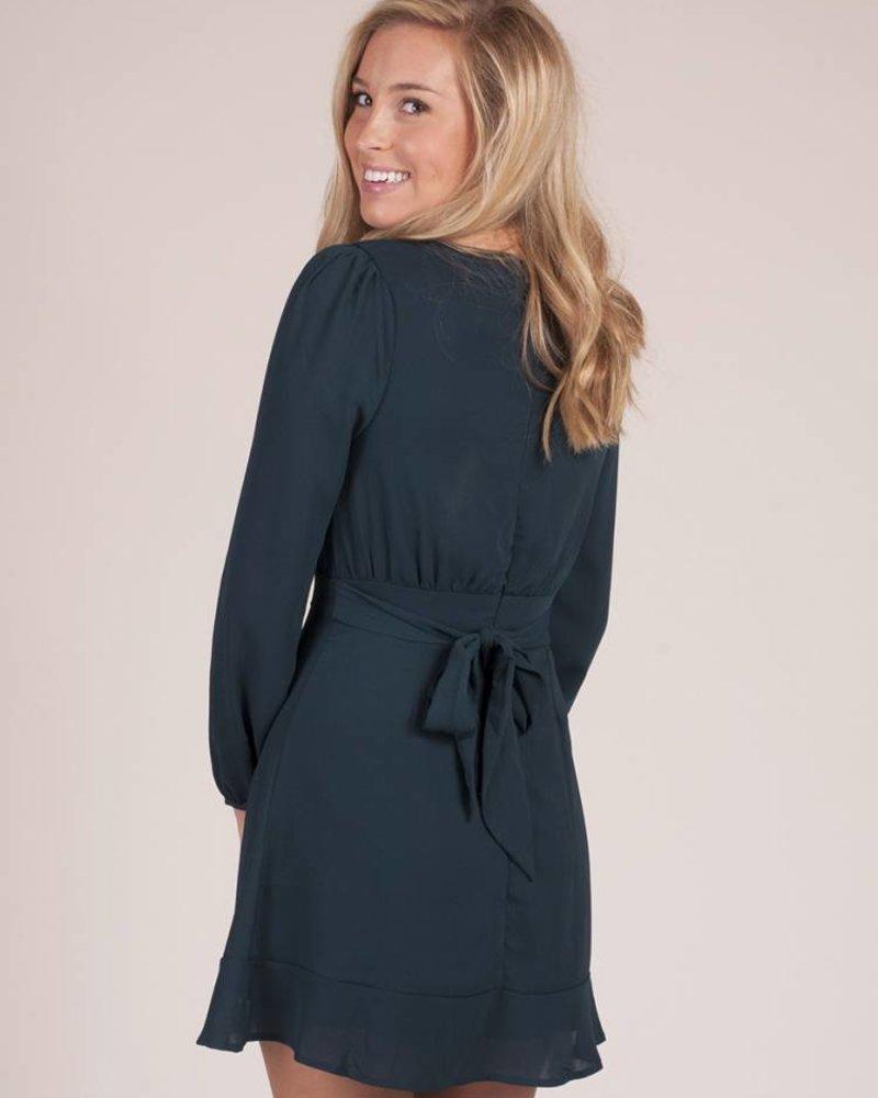 Lawson VNeck Wrap Dress