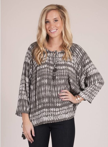 Valley L/S Top w/ Side Tie