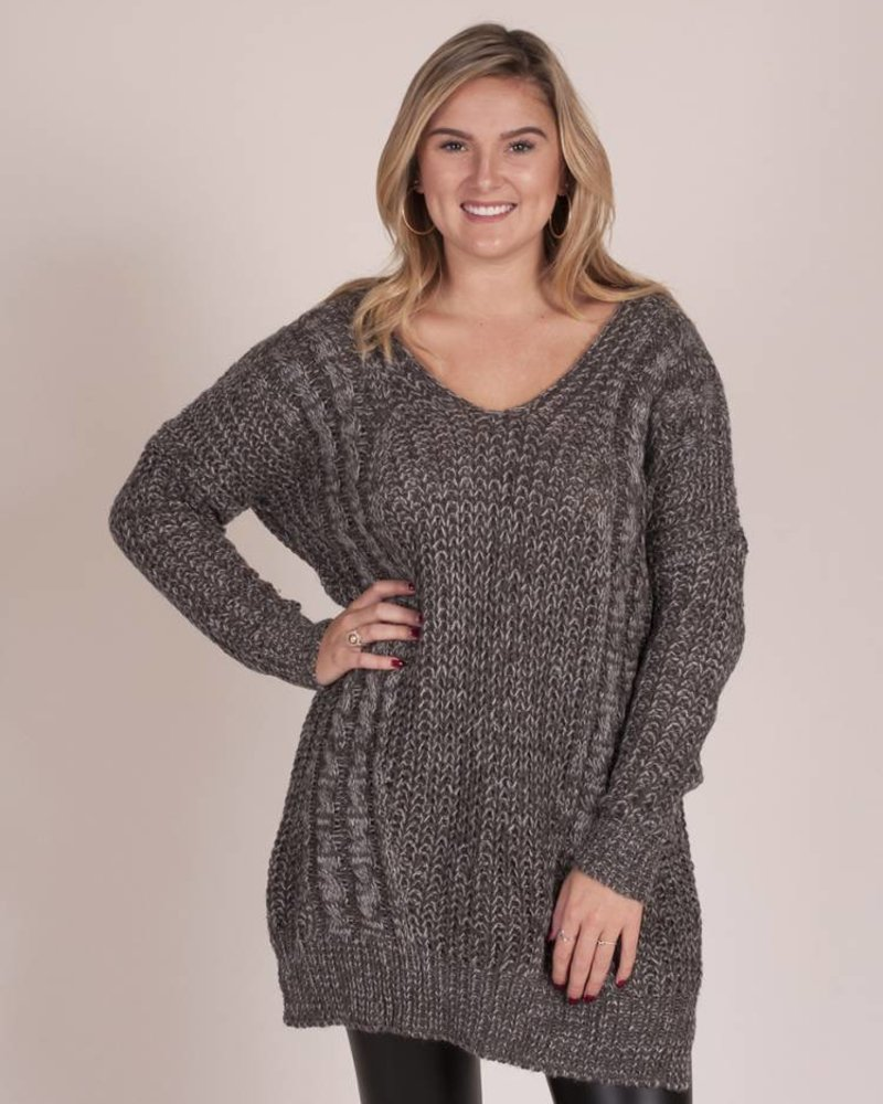 Sheri Knit Crossback Sweater