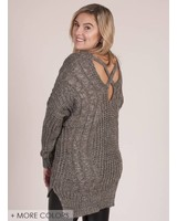 Sheri Knit Crossback Sweater