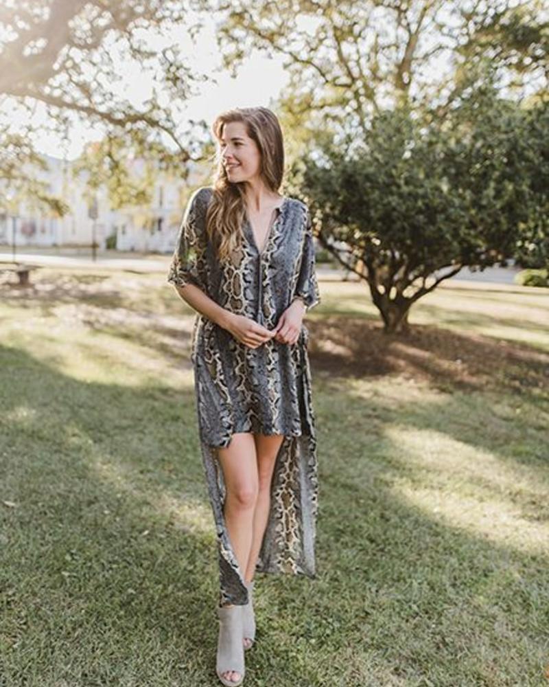 BuddyLove - Derby HiLo Dress