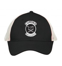 Cursed Trucker Hat - B/W