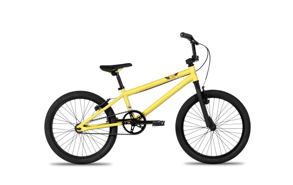 "Norco RISE BMX 20"" Yellow/White/Brown"