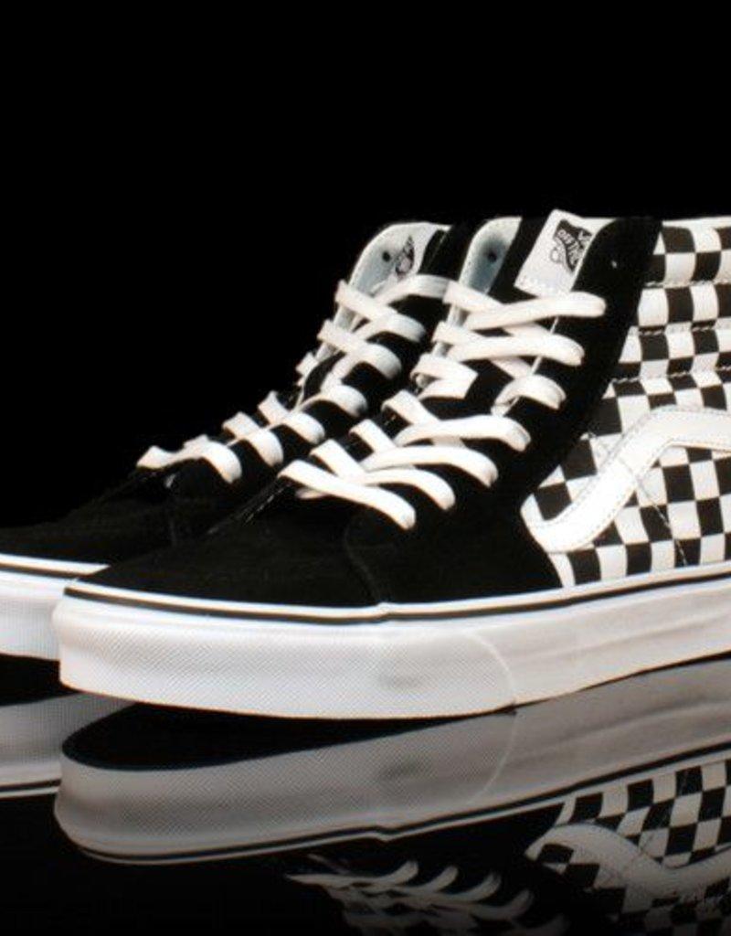 VANS Vans Sk8 HI Classic Checkerboard Black True White