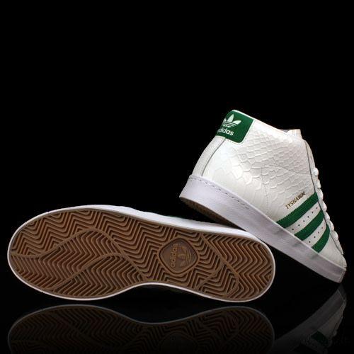 ADIDAS Adidas Pro Model WHITE GREEN WHITE