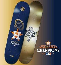 "Element Deck Astros World Champions 8"" Top & Bottom Graphic"
