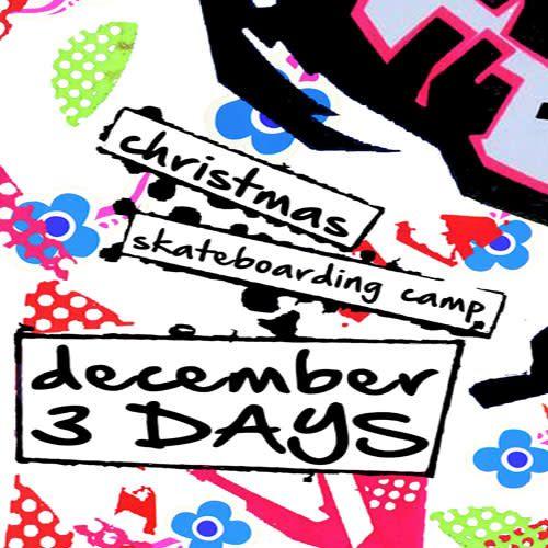Southside Christmas Skateboarding Camp 3 Days