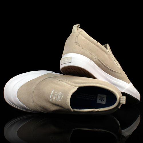 ADIDAS Adidas Matchcourt Slip Mid Brown White Gum