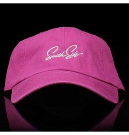 Southside Southside Hat Script Striking Pink