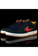 Nike Nike SB Air Force 2 Midnight Green Habenero Red