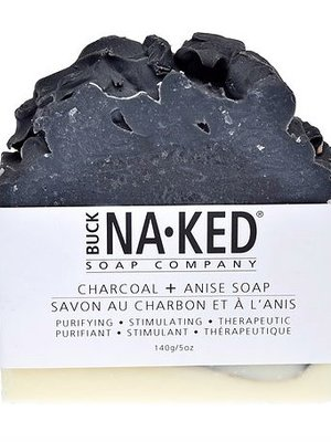 Buck Naked Soap Company Charcoal & Anise Soap
