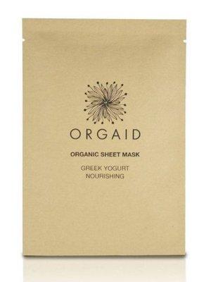 Orgaid Orgaid Greek Yogurt & Nourishing Sheet Mask