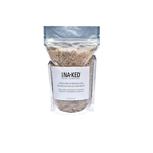 Buck Naked Soap Company Coffee Dead Sea Salt Soak
