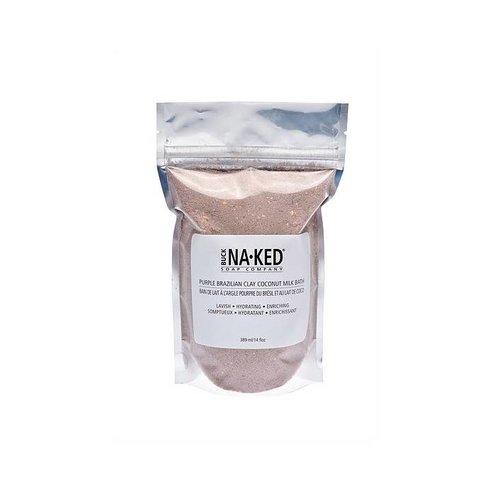 Buck Naked Soap Company Purple Brazilian Clay Coconut Milk Bath