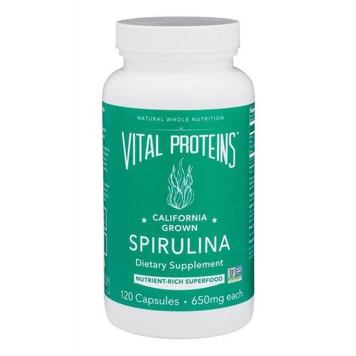 Vital Proteins Spirulina Capsules