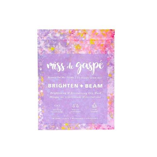 Miss De Gaspé Brighten & Beam Mask