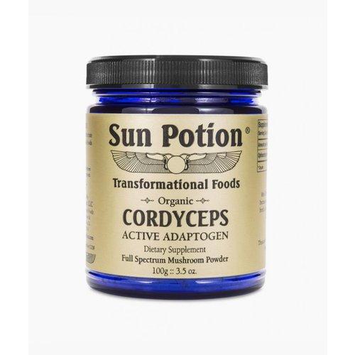 Sun Potion Cordyceps Raw Mushroom Powder