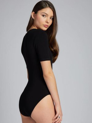 C'est Moi Bamboo Wrap Bodysuit