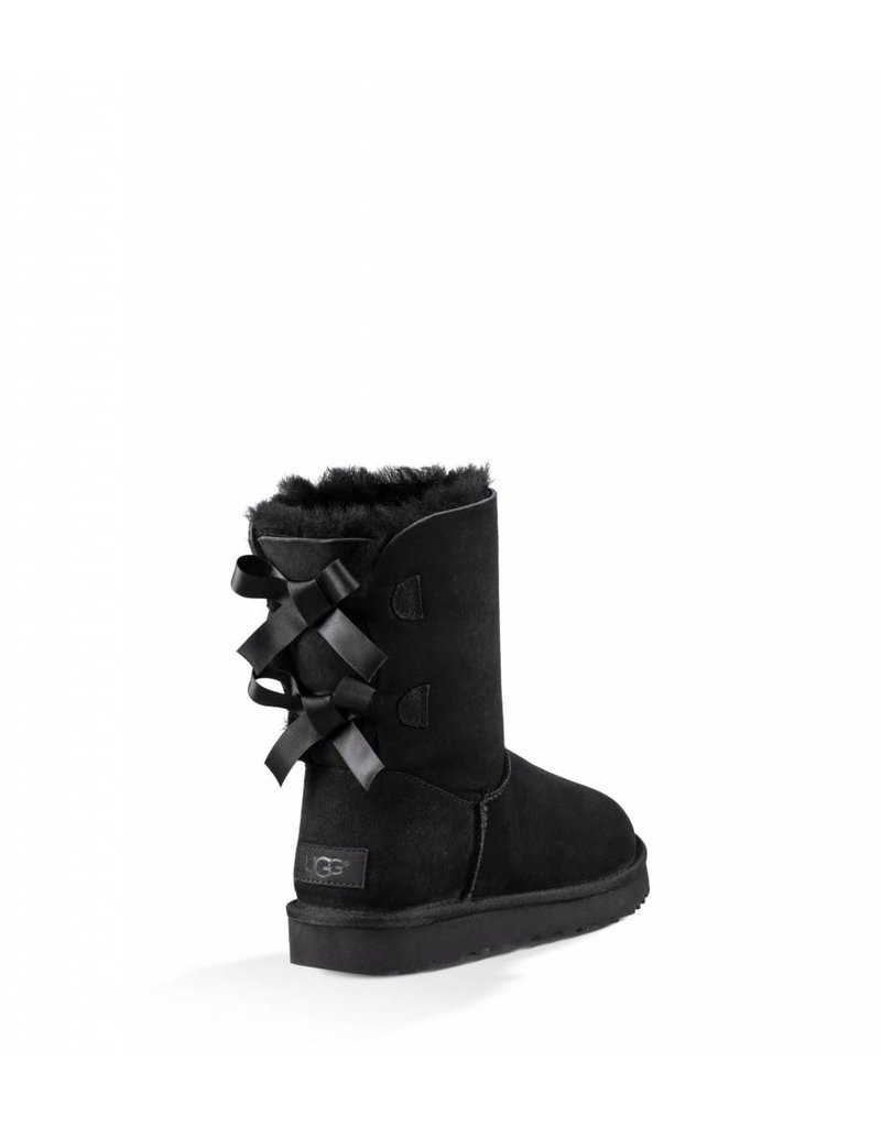 UGG UGG Womens Bailey Bow Black UGG UGG Womens Bailey Bow Black ...