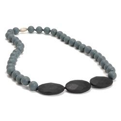 jewelry chewbeads greenwich necklace, stormy grey