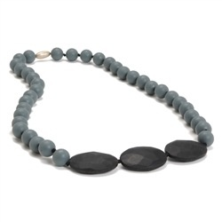 jewelry greenwich necklace, grey