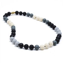 jewelry bleecker necklace, black