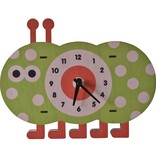 decor modern moose caterpillar wall clock