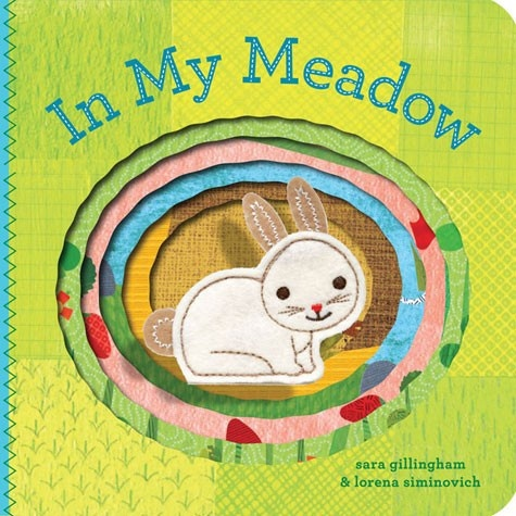 book in my meadow: finger puppet book
