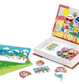 playtime Janod 4 seasons magnetic book