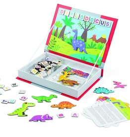playtime dinosaurs magnetic book