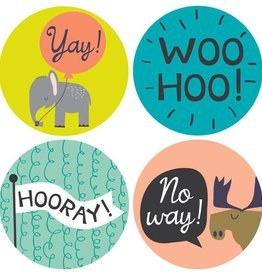 functional accessory milestone baby stickers (more patterns)