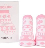 fashion accessory nordic pink socks