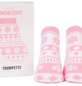 fashion accessory nordic pink socks