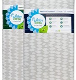 furniture lullaby earth super lightweight crib mattress: 2-stage, leaf pattern