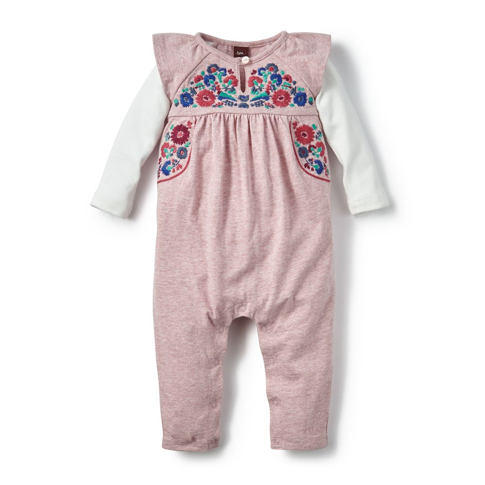 master tea collection yarii embroidered romper