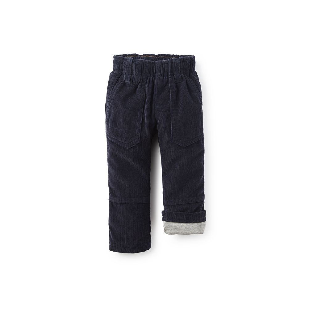 master tea collection corduroy roll-up pants