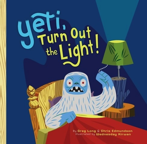 book yeti, turn out the light!