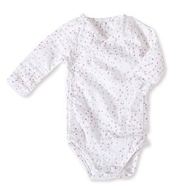baby girl long sleeve raglan bodysuit