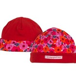 fashion accessory zz magnificent baby poppie print reversible hat